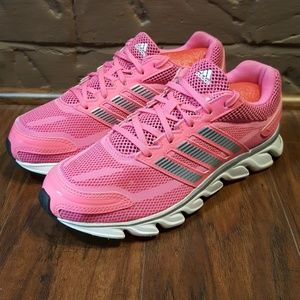 Adidas running shoes, size 7, excellent condition.